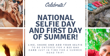 National Selfie Day & First Day of Summer Giveaway